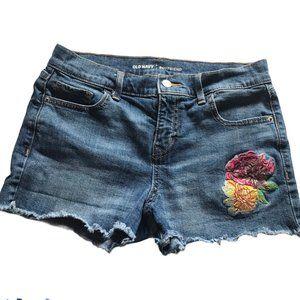 Old Navy Boyfriend Jeans Shorts Size 6